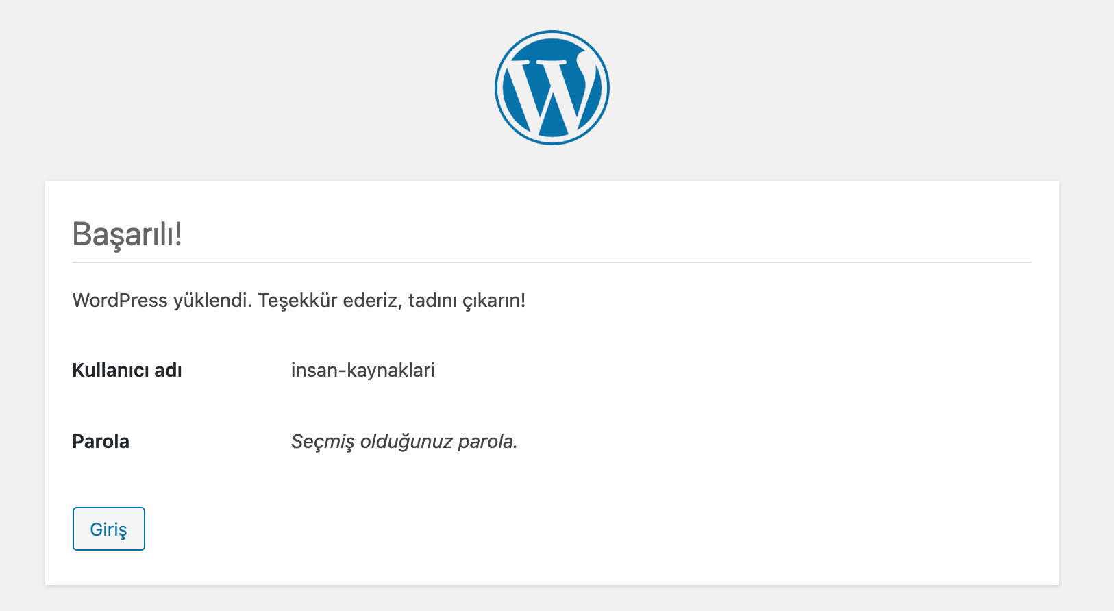 Wordpress elle kurulum nasıl yapılır?
